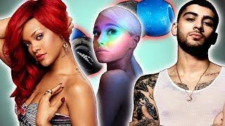 9 Albumes Mas Anticipados del 2018- Ariana, Selena, Zayn