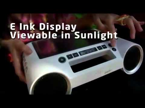 200739 - Solar Powered Radio Boombox
