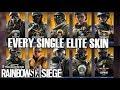 Rainbow Six Siege All Elite Skin MVP Animations