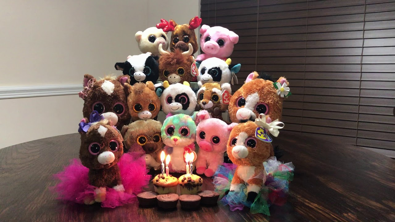 444a95d96ba Beanie boo Dakota the horse s Birthday - YouTube