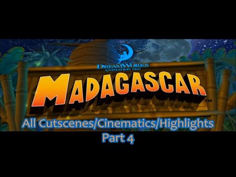 Madagascar - Part 4 (All Cutscenes/Cinematics/Highlights)