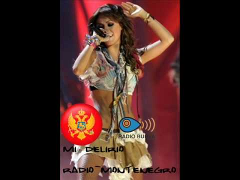 Anahi-Mi delirio-radio Budva (Montenegro)