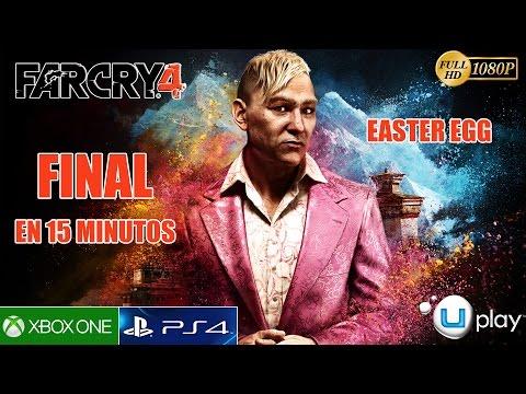 Far Cry 4 Final Alternativo Secreto Easter Egg - Pasarse el juego en 15 minutos (Español) 1080p