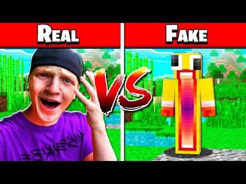 REAL UNSPEAKABLE vs FAKE UNSPEAKABLE!