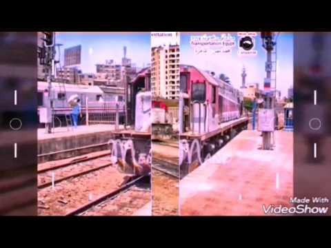 الجرار ( المالبورو و الجينرال اليكتريك و ادترانز النقل Adtranz Freight ) فيلم سكك حديد مصر