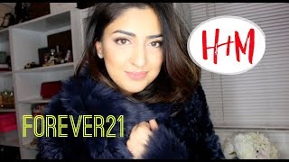 Outerwear Haul Forever21,H&M and Tory Burch