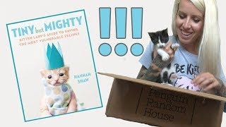 Unboxing My Book: TINY BUT MIGHTY!