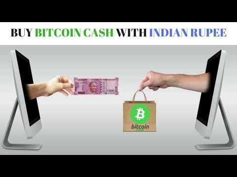 Now Buy Bitcoin Cash With Indian Rupees