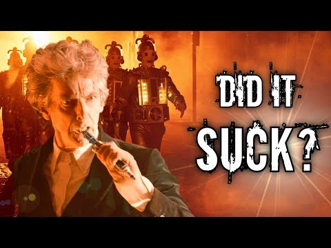 DID IT SUCK? - Doctor Who [SERIES 10 FINALE MEGA REVIEW]