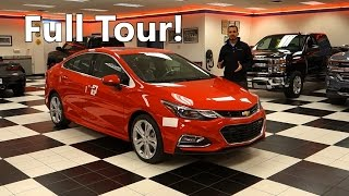 All New 2016 Chevrolet Cruze Premier RS FULL TOUR!