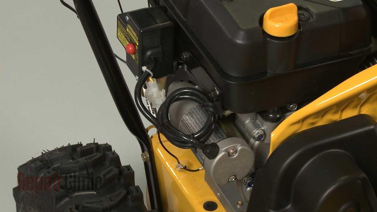 snow blower starter wiring diagram [ 1280 x 720 Pixel ]