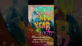 Happy New year 2020 you so much and I miss