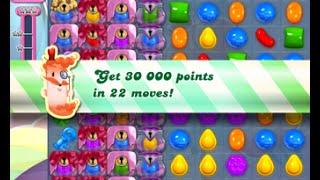 Candy Crush Saga Level 1533 walkthrough (no boosters)