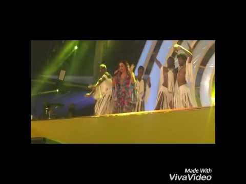 Daniela Mercury no palco Skol - Carnaval de Salvador 2017