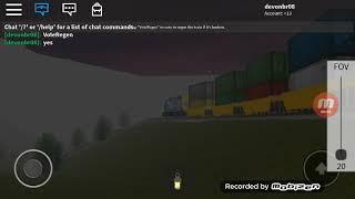 ROBLOX Railfanning 3.0 - CSX Intermodaler Zug
