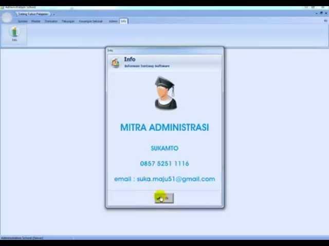 Paket Aplikasi Administrasi Sekolah