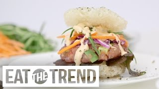 How to Make a Sushi Burger | Eat the Trend