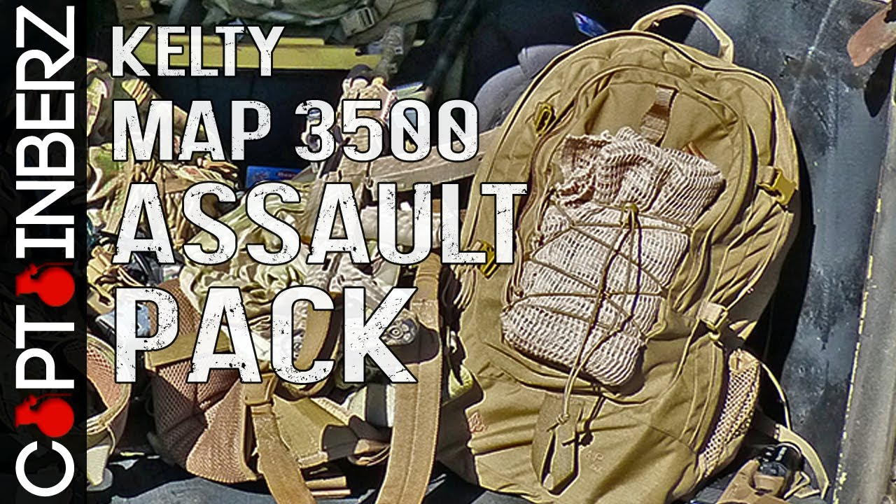 Kelty MAP 3500 3 Day Assault Pack   YouTube Kelty MAP 3500 3 Day Assault Pack