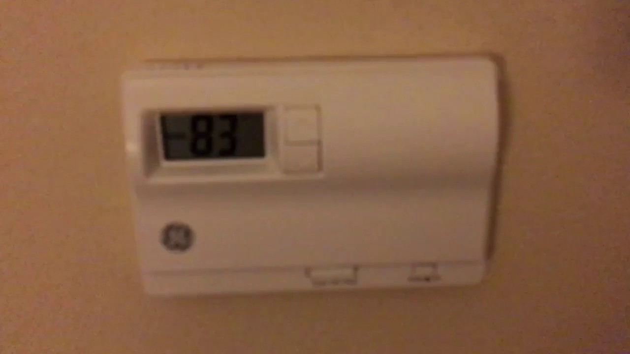 How To Override Hotel Thermostat Settings - Your Mileage May