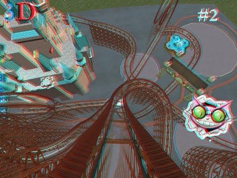 Американские горки в 3D Часть 2\ Roller Coaster 3D