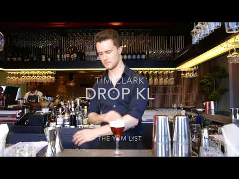 Tim Clark - Bartender at Drop KL