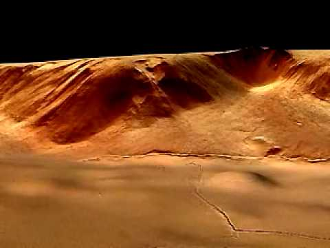 Olympus Mons East Escarpment (2004)