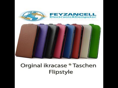 Original ikracase ® Tasche Flipstyle für Mobistel Cynus T6