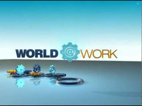 World at Work news segment opening