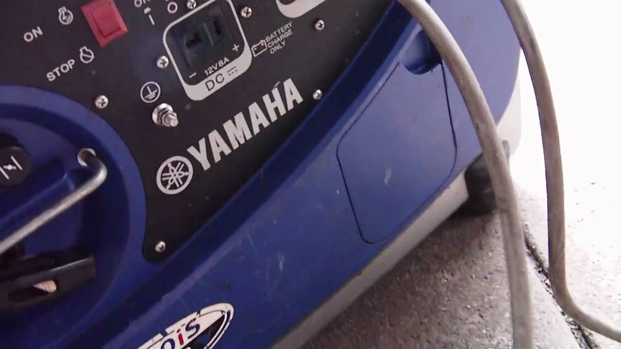Yamaha Inverter Generator Yamaha Portable Generators are the