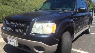 2001 Ford Explorer Sport Trac test drive & buying tips