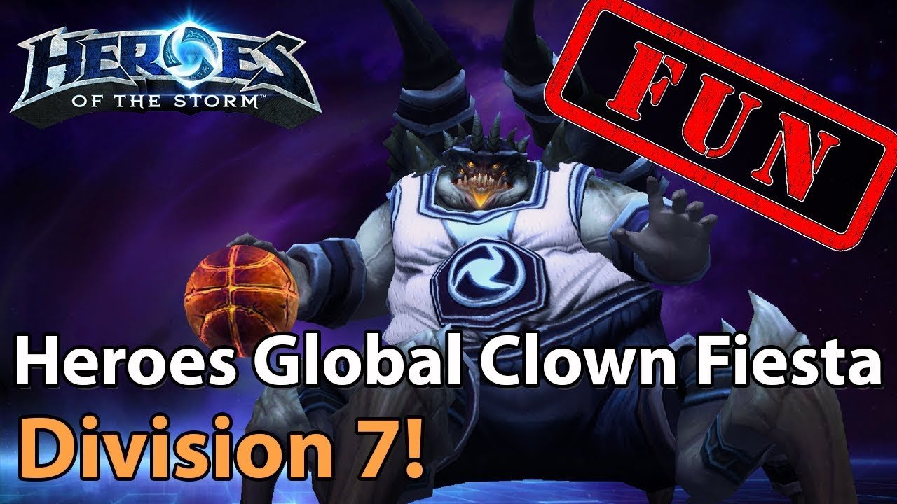 ► Heroes of the Storm - Full Clown Fiesta in Division 7!