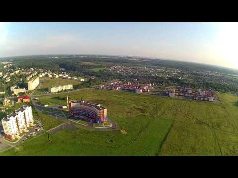 Балабаново Калужской области с воздуха.