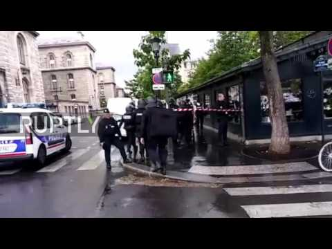 France: Notre Dame on lockdown after attack - anti-terror probe opened