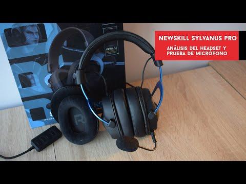 Newskill Sylvanus Pro. Analizamos el nuevo headset de la marca y probamos su micro | Gameit ES