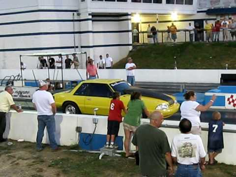 Brian Turner of Rocky Mount, Virginia at Motor Mile Dragway