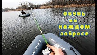 ОКУНИ Разрывают Спиннинг Ловим Окуня на Джиг ПОКЛЕВКИ на КАЖДОМ забросе Рыбалка с NRG FISHING