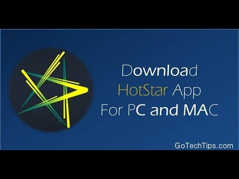 How to download Hotstar on pc - YouTube