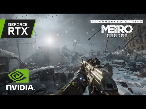 Metro Exodus PC Enhanced Edition with RTX | Available Now!