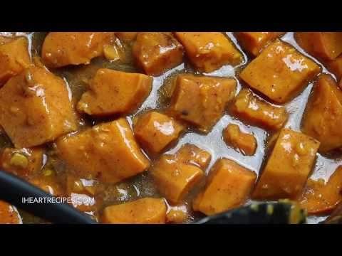 Slow Cooker Candied Yams - Southern Soul Food Style - I Heart Recipes