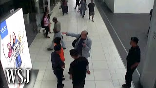 The Moment Kim Jong Nam Was Attacked: CCTV Footage