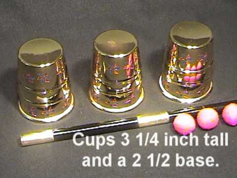 The Royal Cups & Balls Combo Set - Offered by DeeBee Mazik