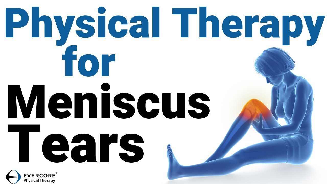 can i exercise with a torn meniscus
