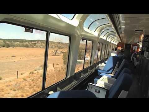 Southwest Chief Amtrak Train # 3 Part 1