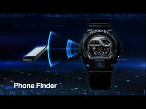 CASIO G-SHOCK With Bluetooth V4.0 - GB6900AA