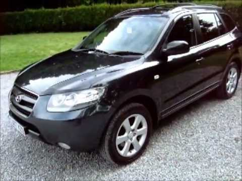 2007 hyundai santa fe 2 2 crdi cdx auto 7 seats rear dvd huge spec youtube. Black Bedroom Furniture Sets. Home Design Ideas