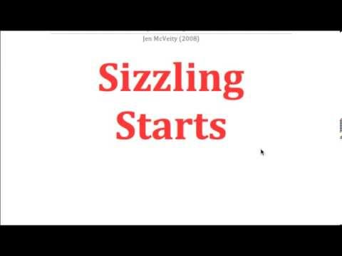 Sizzling Starts Persuasive Writing PowerPoint