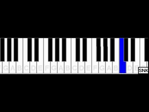 kal-ho-na-ho-title-song-on-piano---snk