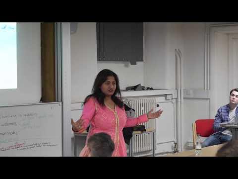 UCL Talk by Arifa Khan