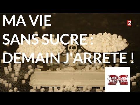 Complément d'enquête. Ma vie sans sucre : demain j'arrête ! - 18 janvier 2018 (France 2)