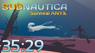 Subnautica Survival Any% 35:29 (World Record)